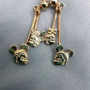 Women's Disney Mickey And Minnie Mouse Earrings